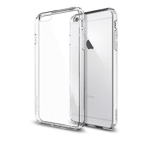 Estuche Protector TPU Transparente para iPhone 6 Plus