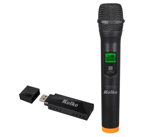Micrófono Inalámbrico Kolke KPI-267 alcance 50m al mejor precio solo en loi