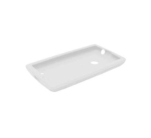 Protector Blanco de Silicona para Nokia Lumia 520