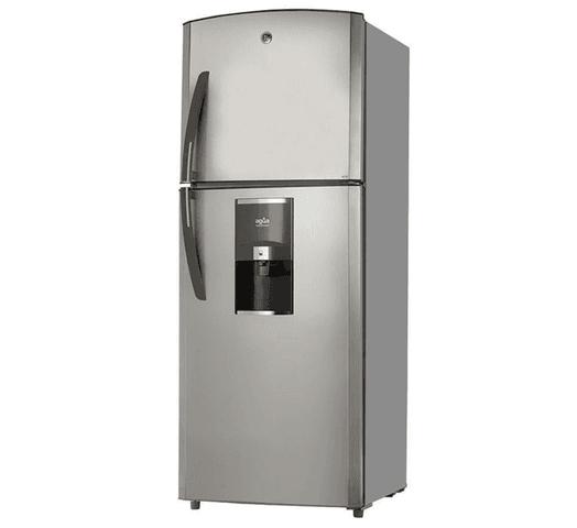 Refrigerador GE 390L 2 puertas y freezer superior frío seco al mejor precio solo en loi