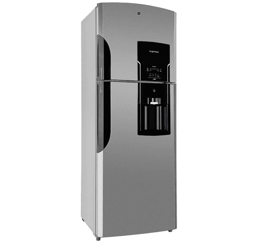 Refrigerador GE 542L 2 puertas, freezer superior Frio/Seco con Dispensador