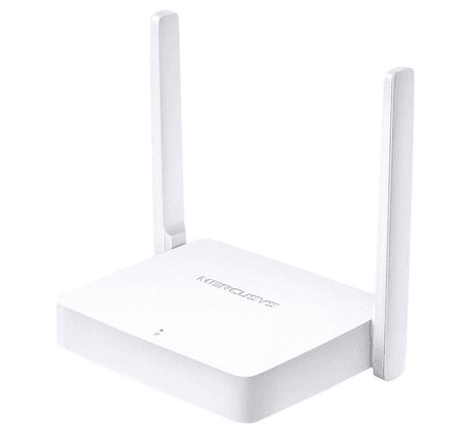 Router Inalámbrico Mercusys 300Mbps 2 antenas 5dBi al mejor precio solo en loi