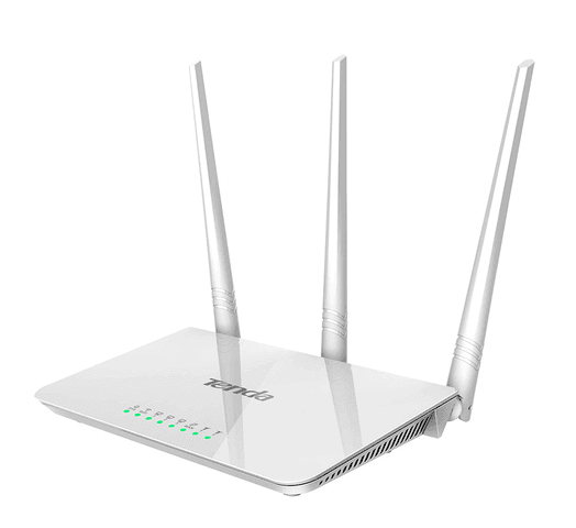Router WiFi Tenda F3 de 300Mbps 3 antenas