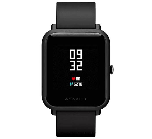 Smartwatch Xiaomi Amazfit Bip - Negro al mejor precio solo en loi