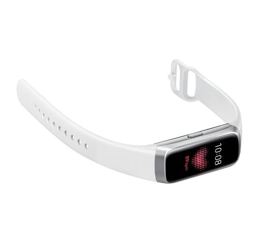 SAMSUNG Galaxy Fit Liviano Pantalla AMOLED Bluetooth Resistente al Agua - Silver al mejor precio solo en loi