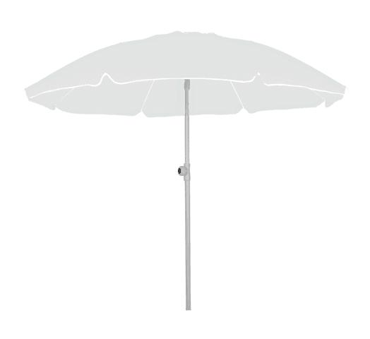 Sombrilla de playa Swiss Armor con Filtro UV 80+ Blanco al mejor precio solo en loi