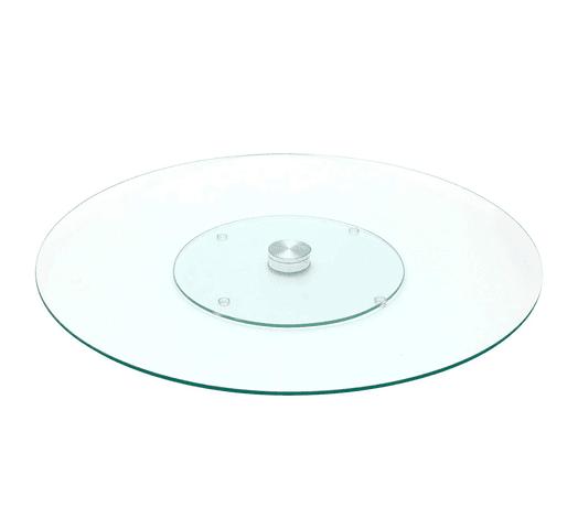 Plato Giratorio de Vidrio Para Tortas - 30cm al mejor precio solo en loi