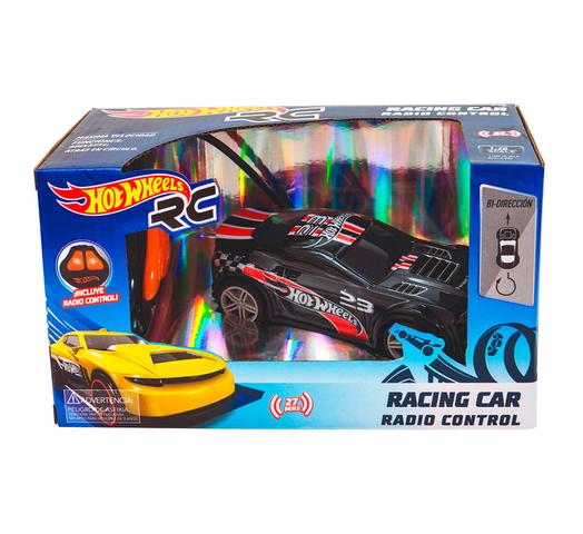 Auto a Control Remoto HOT WHEELS Racing Car 15cm - Negro al mejor precio solo en loi