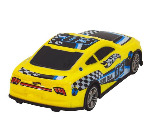 Auto a Control Remoto HOT WHEELS Velocity Car 19cm - Amarillo al mejor precio solo en loi