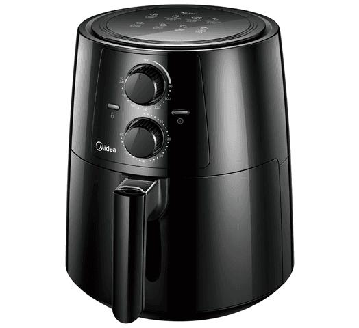 Freidora Sin Aceite Midea 3.5L de Capacidad 1400W Temporizador de 60 Minutos Temperatura Regulable al mejor precio solo en loi