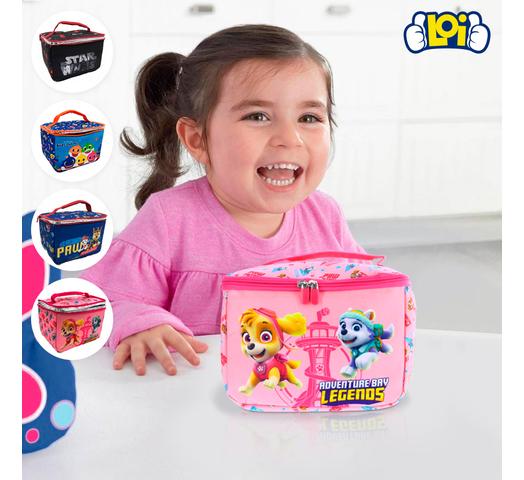 Lunchera Infantil Diseño Paw Patrol - Rosa al mejor precio solo en loi
