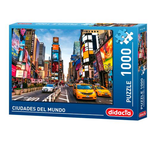 Puzzle Didacta 1000 Piezas Ciudades del Mundo - Nueva York al mejor precio solo en loi