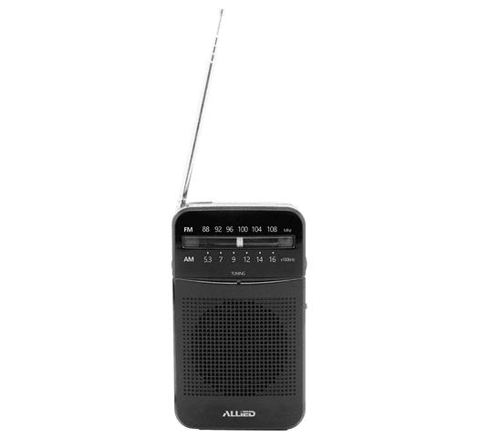 Radio Portátil ALLIED AM/FM Antena Baterías R6 (AA) al mejor precio solo en loi