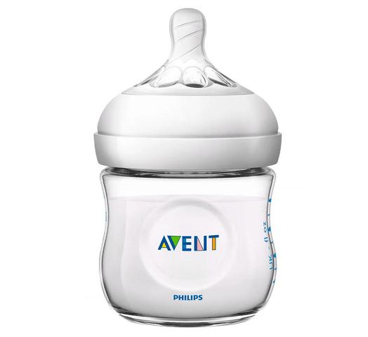 Set para Recién Nacidos Philips Avent 4 Mamaderas + 1 Cepillo + 1 Chupete - Natural al mejor precio solo en loi