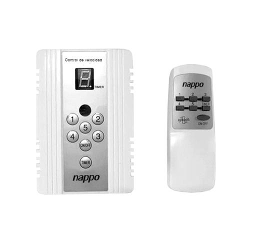 Ventilador de Techo NAPPO 3 Aspas 75W 5 Velocidades Control Remoto al mejor precio solo en loi