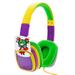 Auriculares Infantiles XTech con Limitación de Sonido Tarjetas Intercambiables Crayones - Amarillo al mejor precio solo en loi