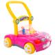 Práctico y divertido caminador para bebés y niños de 8 a 18 meses, hasta 14kg. Diseñado en plastico resistente, con música y luces led. Cuenta con altura cómoda y óptima para el crecimiento del bebé y 4 ruedas para mejor desplazamiento dentro del hogar.