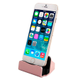 Cargador Base para Iphone Sincronizador Conexión Lightning USB - Rosa al mejor precio solo en loi